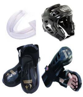 Warrior Sparring Gear Set